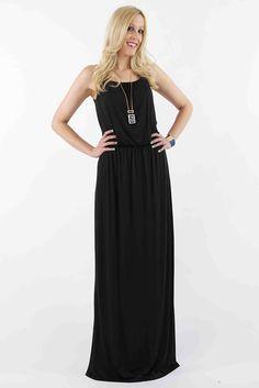 LOVE this dress...even has adjustable straps! Karlie Maxi Dress