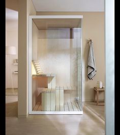 After a long day's work, driving down to the spa for sauna is the last thing that you'd want to do. Imagine how beautiful life would be if you have a sauna in the comfort of your bathroom.