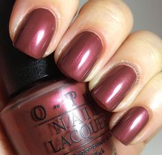 Fierce Makeup and Nails: OPI San Francisco Collection Fall/Winter 2013 Swatches and Review! via @Gina Gab Solórzano Craven
