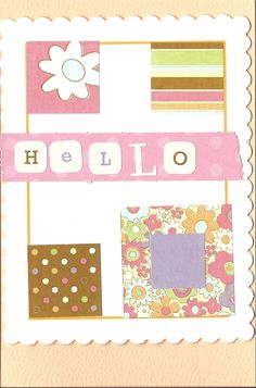 cards made from scrapbook scraps
