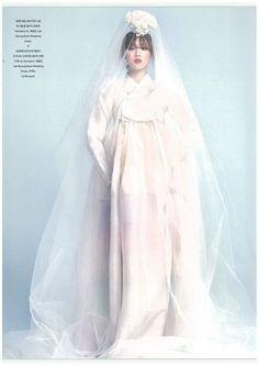 Lee Seong Kyeong by Ahn Joo Young for ELLE Bride Korea