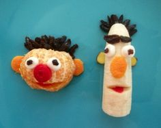 Kids recipes: Ernie & Bert are two sweet snack time Muppets.
