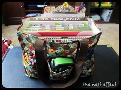 Organizing Utility Tote - home organization #thirtyone