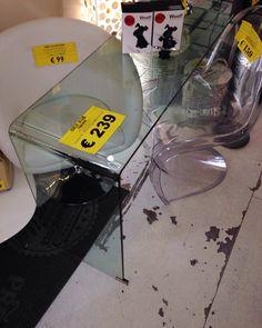 #ribassiimportanti  #consolle #scrivania #toilette in #cristallo  #passaciacciare