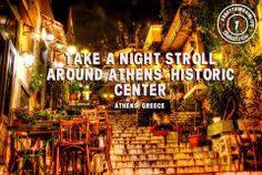 #bestthingsinlife #experiences #travel #romantic #plaka #athens #greece #historiccenter #nightstroll