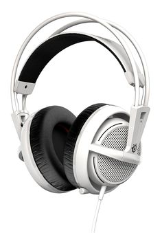 SteelSeries Siberia 200 Gaming Headset - White: Amazon.co.uk: PC & Video Games
