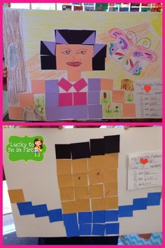Math Fraction Friends - Easy to prep projects for applying Math! FREEBIE included!