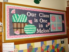 Our Class in One in a Melon.
