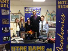 11/18/12 NDHS Student Council at St. Michael's open house!