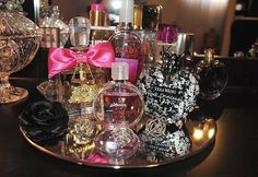 It's a girl thing to have to many perfume!!! <3 <3 <3