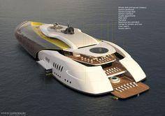A hybrid submarine-superyacht concept - NEMO