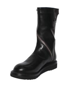Rick Owens | Black Limo Creeper Boots | Lyst