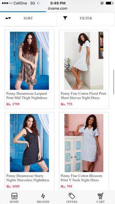 PNY nightdresses