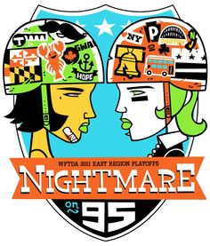 Nightmare on 95, by chris bishop - change to 35 for home bouts at the Bell County Expo Center...possibly for the tournament?