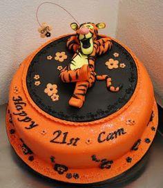 Tigger Cake!