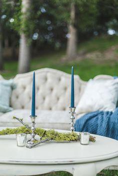 Elegant, blue wedding ideas from @blushcreek