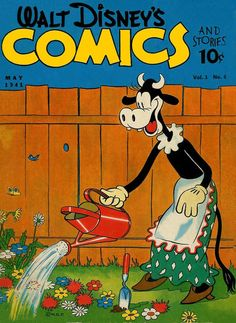 Cover for Walt Disney's Comics and Stories (Dell, May 1941) #v1#8