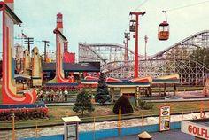 I miss amusement parks like this. Palisades Amusement Park, NJ