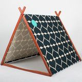 Smokey Black Grand Hearts Wonder Tent (Organic Hemp/Cotton)