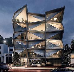 - Offices Rendering By - Raymundo Renteria Sanchez A collection of the best contemporary architecture to inspire you. Architecture Magazines, Futuristic Architecture, Facade Architecture, Residential Architecture, Contemporary Architecture, Amazing Architecture, Office Building Architecture, Amazing Buildings, Modern Buildings