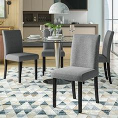 17 Stories Arek Counter & Bar Stool | Wayfair Counter Height Dining Table, Counter Bar Stools, Extendable Dining Table, Solid Wood Dining Chairs, Upholstered Dining Chairs, Dining Chair Set, Dining Room, Dining Tables, Room Chairs