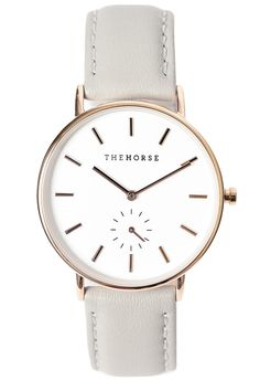 THE HORSE Classic Watch Rose Gold/Grey | The Horse Watch