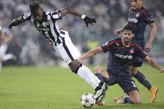 #Juventus - Olympiacos le azioni del match. Pogba
