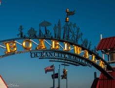 Ocean City Boardwalk  Beach Sign  Beach Decor by EBlakePhotography, $35.00