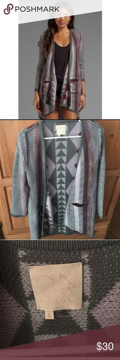Chaser aztec open cardigan Really soft, light weight, great quality. Chaser Sweaters Cardigans