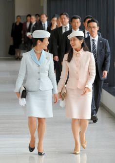 Princess Hisako and Princess Noriko, October 3, 2014 | Royal Hats