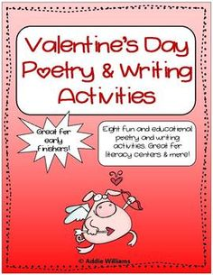 valentine poems for 4th grade