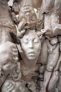 Escultura contemporánea. Contemporary sculpture. Figura humana. Human body. #JavierMarínescultor