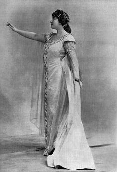 c25d6cf46318 Soprano Lucienne Breval as Chimene in opera  Le Cid