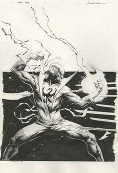 patloika:Iron Fist by Jerome Opeña. *