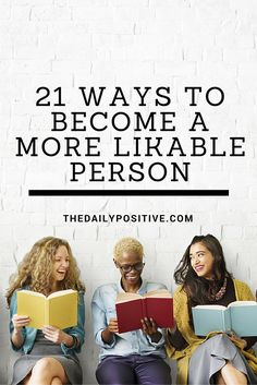 First impressions are a big deal. You meet someone new, and the fate of your relationship is quickly determined. One way to break down barriers is to become a person who is inviting–someone who is likable.