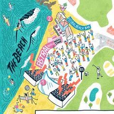 Beach Break Live 2013 - • Antoine Corbineau • Illustration, Art & Design •