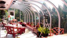 33 Ideas for Your Outdoor Space: Pergola Design Ideas and Terraces Ideas - Garden & Terrace - Winter Balkon, Beautiful Gardens, Beautiful Homes, Terrasse Design, Magazine Deco, Boutique Deco, Meditation Space, House Extensions, Pergola Designs