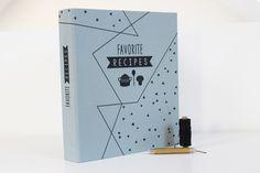 Rezepte-Ordner+Leinen+mit+Register+von+ava&yves+auf+DaWanda.com