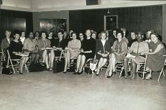 Group portrait of NOW founders at NOW's organizing conference in Washington, DC, October 1966
