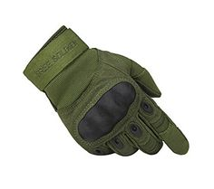 Climbing-High Quality Wear-resistant Antiskid Rock Climbing Riding Gloves GREEN…