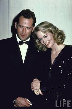 Cybill Shepherd & Bruce Willis (Moonlighting)