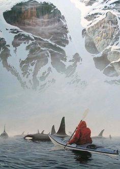 Alaska...Beautiful but creepy at the same time.