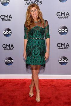 Celebrities the CMA Awards 2014 | Pictures | POPSUGAR Celebrity.  Connie Britton