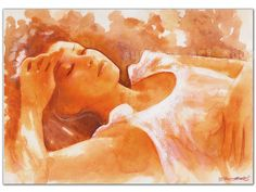 """Under the sun"" Watercolour by Aurora Weinhold"