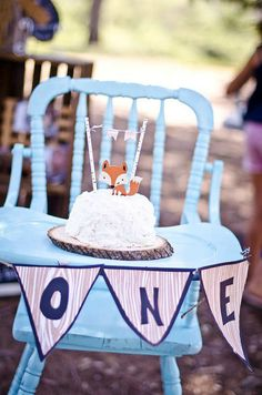 Beautiful woodland party | 10 1st Birthday Party Ideas for Boys - Tinyme Blog
