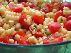 Yum... Id Pinch That! | Corn and Tomato Salad