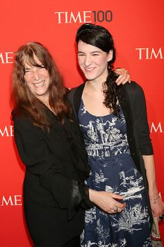 Jesse Smith Photos - Patti Smith and daughter Jesse Smith pose for photographs while attending the Time 100 Gala, held at the Time Warner Center in New York City. - Stars at the TIme 100 Gala