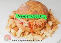 I take this Mexican Cob Dip when I go to BBQ's and it is always a smashing success! I take this Mexican Cob Dip when I go to BBQ's and it is always a smashing success! Cob Bread, Cob Loaf, Dip Recipes, Appetizer Recipes, Cooking Recipes, Recipies, Appetizers, Xmas Recipes, Cobb Loaf Dip