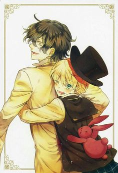 Oz Vessalius and Gilbert Nightray / Pandora Hearts Manga Anime, Manga Art, Anime Guys, Anime Art, Pandora Hearts Gilbert, Pandora Hearts Oz, Vanitas, Lewis Carroll, Gilbert Nightray
