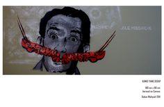 idea of Salvador Dali Lobster phone, so a good mustache